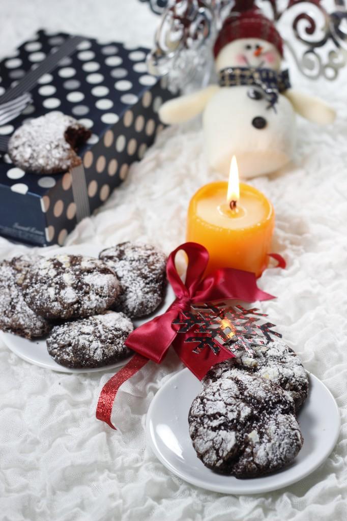 Trufe de ciocolata la cuptor si atmosfera de sarbatoare