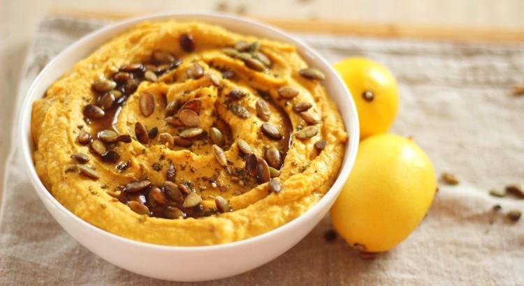 Gustare de toamna: Hummus cu dovleac