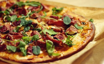 Pizza cu smochine