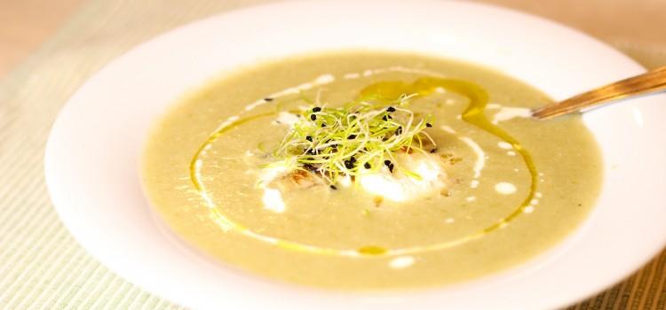Comfort food: supa-crema de napi