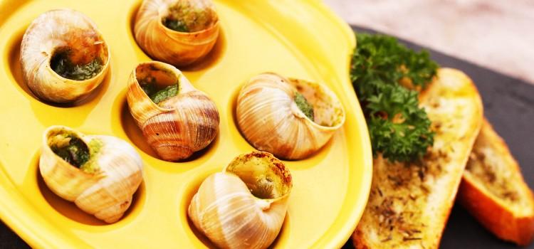 French classics: Escargots à la Bourguignonne