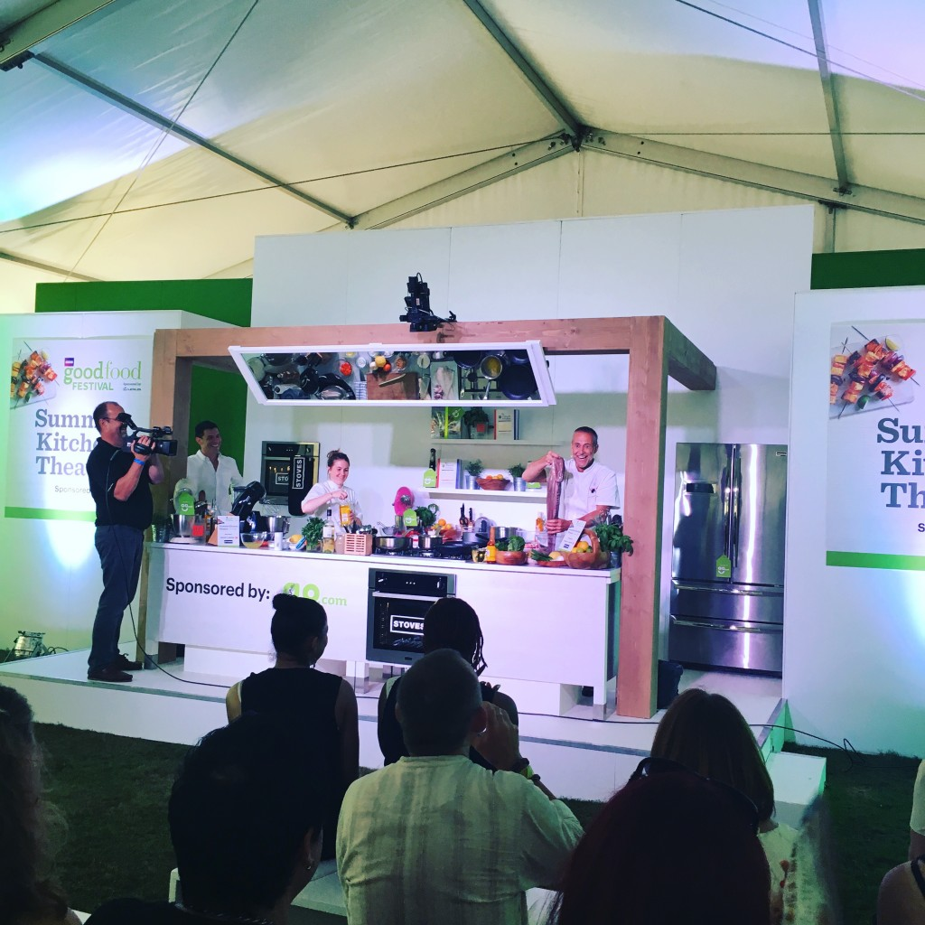 BBC Good Food Festival aug 2016 Michel Roux Jr