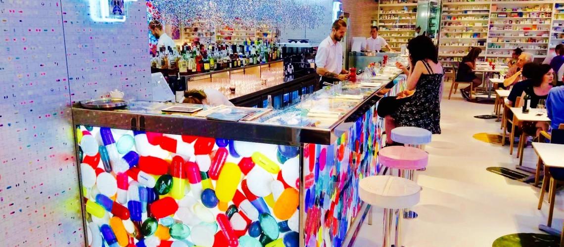 Pharmacy 2: neconventionalul restaurant al lui Damien Hirst