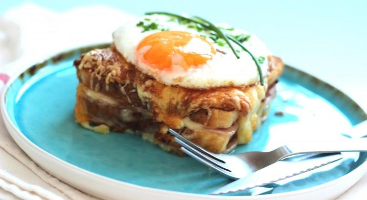 Croque-Madame: un sandvis cu eleganta