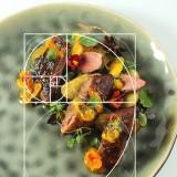Armonie în gastronomie – elemente de arhitectura platingului: (I) Fibonacci și proporția de aur