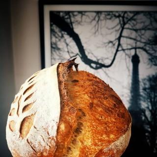 Cu aromă de Paris. 🗼❤️ #bakedwithlove #bmexperiences #BMjoiedevivre 🌾 #painaulevain #breadislove #naturallyleavened #sourdoughbread #sourdoughlove #sourdough #breadear #artisanbread #igbreadclub #instabread #eiffeltower #frenchstyle #petitejoys #foodphoto #mobilephoto #huawei