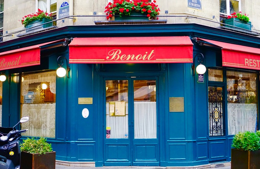 Benoit: singurul bistro instelat din Paris